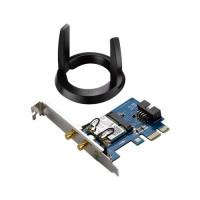 ASUS PCE-AC55BT Dvoupásmový PCI-E adaptér třídy Wireless-AC1200 s rozhraním Bluetooth 4.0
