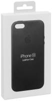 Apple iPhone 5/5S/SE Leather Case Black