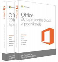 Office 2016 pro domácnosti a podnikatele Win CZ