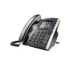 Polycom IP telefon VVX 411, Skype, 12 linkový, 2x 1 Gb, HD Voice, PoE