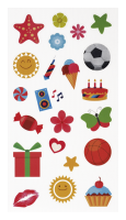 Fujifilm Instax Fun Sticker 110-Pack
