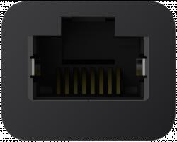 Belkin USB C na Gigabit- Ethernet-Adap. 14cm F2CU040btBLK