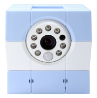 Amaryllo iBabi PLUS Baby Security Camera blue