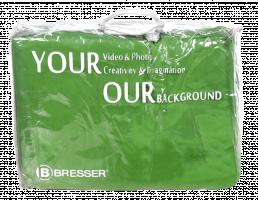 Bresser Y-9 Background Cloth 3x4m Chromakey Green