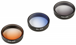 POLARPRO Gradient filtrů 3-pack s rámeček 2.0 for DJI Phantom 3