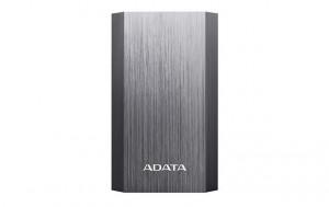 ADATA A10050 Power Bank 10050mAh, Type-A USB, titanium grey