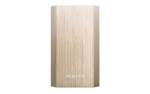 ADATA A10050 Power Bank 10050mAh, Type-A USB, gold