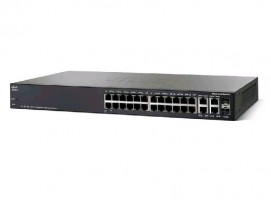 Cisco SG350-28P 28-port Gigabit POE Managed Switch, PoE 195W/24 ports