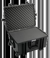 B&W Venkovní Case Type Type 6800 cerna s penova hmota
