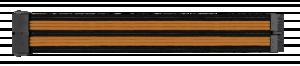 Thermaltake Mod Black Orange Sleeved kabel Combo Pack 300mm