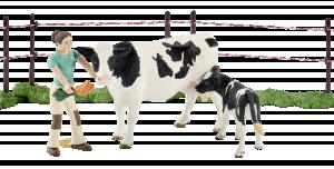 Schleich Farm Life 41428 Krávy na pastvě