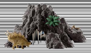 Schleich Dinosaurs 42305 Velká sopka s T-Rexem