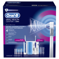 Braun Oral-B Center OxyJet Oral Irrigator + PRO 3000