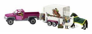 Schleich Horse Club Pick-up s horse box
