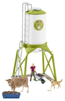 Schleich Farm Life Feed Silo s Animals