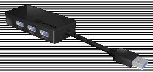 Raidsonic ICY BOX IB-AC517 USB 3.0 to Gigabit Ethernet