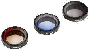 POLARPRO filtrů Set rámeček 2,0 Gradient pro GoPro 3 / 3+ / 4