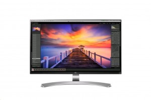 """27"""" LG LED 27UD88-W - Ultra HD, 4K, DP, 2x HDMI, USB C, 5ms"""