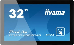Monitor IIyama TF3237MSC-B3AG 32inch, AMVA3 touchscreen 12 TP, Full HD, DVI-D