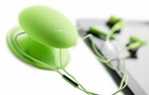 Boompods Earbuds MFi Sluchátka, zelená