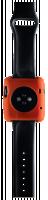 Boompods Pouzdro pro Apple Watch Boomtime 42mm oranžová