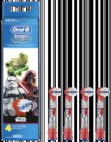 Braun Oral-B Toothbrush heads StarWars 4 ks