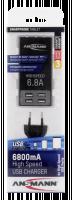 Ansmann Vysokorychlostní USB Nabíječka 6,8 A 4xUSB Port