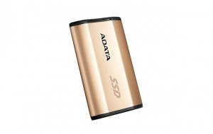 Adata SSD SE730 250GB 500/500MB/s USB 3.1, gold