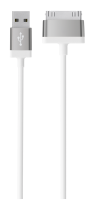 Belkin 30 pin Lade/Sync. Kabel pro iPhone 4/4s 1,2 m