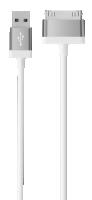 Belkin 30 pin Lade/Sync. Kabel pro iPhone 4/4s 1,2 m