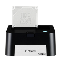 FANTEC MR-U3-6G DOCKING stanice 2,5 & 3,5 HDD, USB 3.0, 6Gb