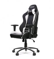 Akracing AK-NITRO-WT Nitro Herní židle, černá/bílá