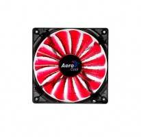 Aerocool SharkFan Red LED 140x140x25 Chlazení