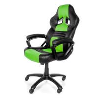 Arozzi Monza Herní židle, černá/zelená