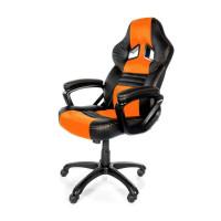 Arozzi Monza Herní židle, černá/oranžová