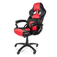 Arozzi Monza Herní židle, černá/červená