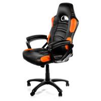 Arozzi Enzo Herní židle, černá/oranžová