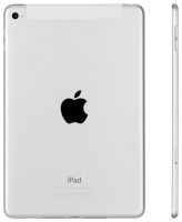 Apple iPad Mini 4 Wi-Fi Cell 128GB Silver (Apple Sim)