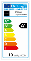 MiPow Playbulb Rainbow LED E27 5W (35W) RGB Žárovka
