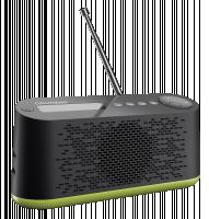 Grundig Music 45 DAB+ Rádio, černá/zelená
