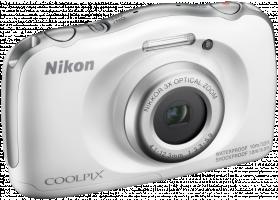 Nikon COOLPIX W100 Fotoaparát, bílá