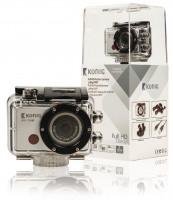 Koenig Full HD action camera 1080p vodotěsné WiFi