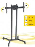 """Techly mobilní stojan pro TV LCD/LED/Plasma 37""""-70"""" VESA, pivot"""