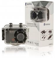 Koenig Akční Full HD kamera 1080p, vodotěsná