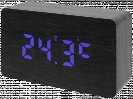 Bresser MyTime WBB Budík s DCF Radio signálem, černá/modrá