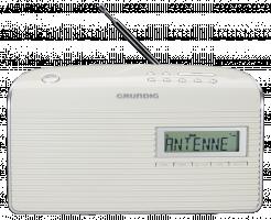 Grundig Music 7000 DAB+ Rádio, bílá/stříbrná