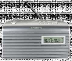 Grundig Music 7000 DAB+ Rádio, šedá/stříbrná