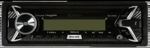 Sony MEX-M100BT Marine Autorádio