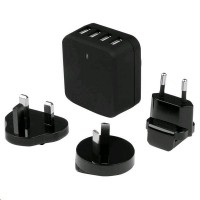 Startech 4X USB Wall Charger 34W/6,8 A