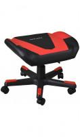 DXRacer Footrest bk/rd